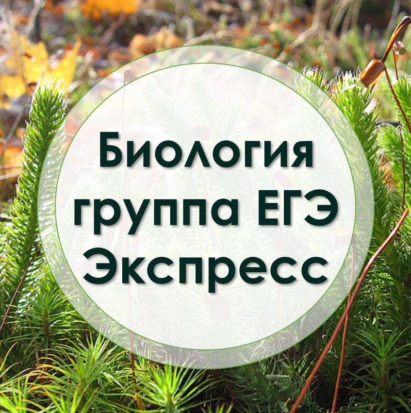 ЕГЭ биология Экспресс-курс