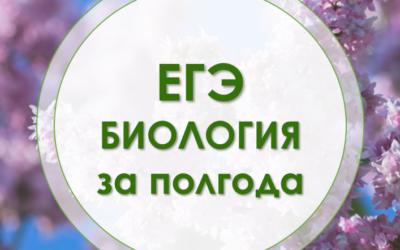 Курс ЕГЭ Биология за полгода